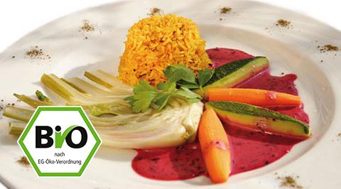 organic Ayurvedic meal