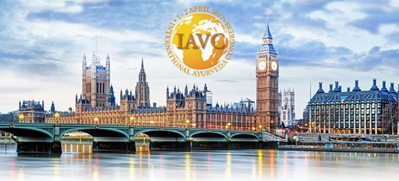 Second International Ayurveda Congress Saturday/Sunday 1-2 April 2017, London, UK