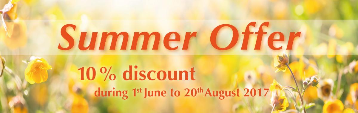 Summer Offer 2017