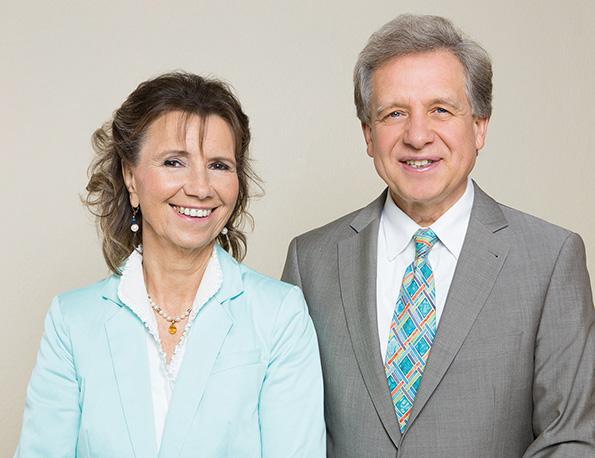 Dr. Karin Pirc und Lothar Pirc