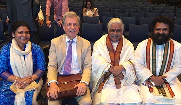 Vaidia Dr. Pavani Raju, Lothar Pirc, Dr.j.R. Raju, Vaidia Dr. Aditya Raju