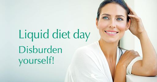 Liquid diet day