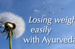 Losing weight easily with Ayurveda