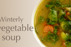 Winterly vegetable soup
