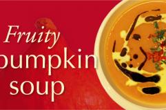 Fruity pumpkin soup