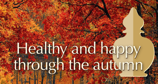 Healthy and happy through the autumn